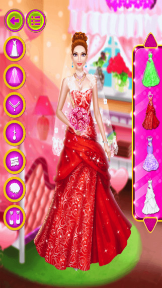 Angle Wedding Makeover - DressUp