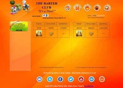 BarterClub -  Homepage