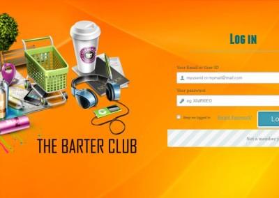 BarterClub - Login