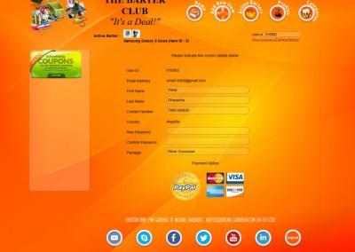 BarterClub - Profile