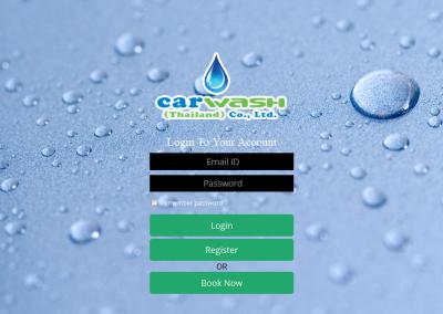 CarWash - Login