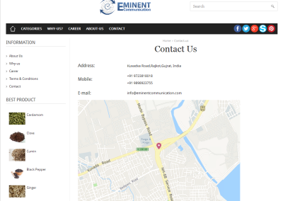 Eminent - Contact