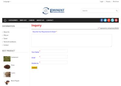 Eminent - Inquiry