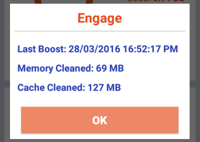 Engage - Last Boost