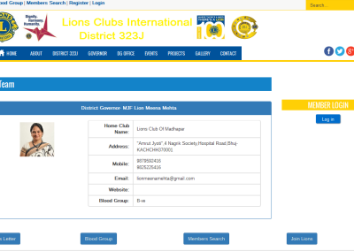 Lions - DG Team