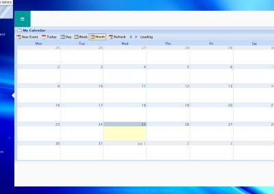 PRVR - CRM - Calendar