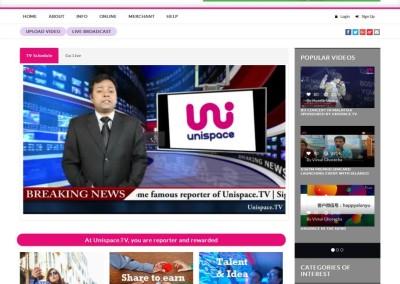 UnispaceTV - Home