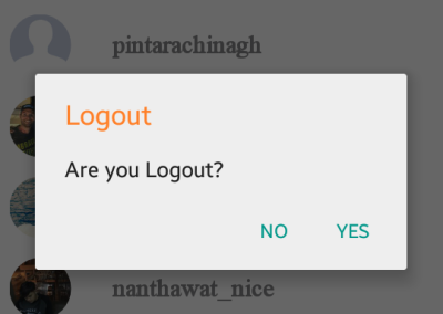 Who Care - Logout